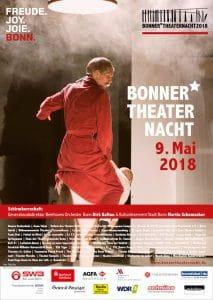 Bonner Theaternacht 2018 Plakat