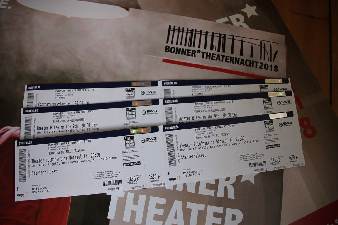 Bonner Theaternacht Startertickets