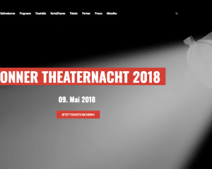 bonner theaternacht 2018 unsere neue webseite ist live